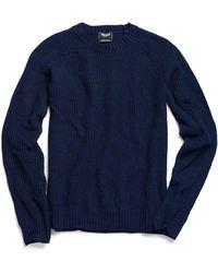 Todd Snyder | Weekend Sweater In Indigo | Lyst