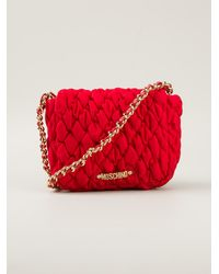 Moschino Channel Mini Shoulder Bag - Lyst