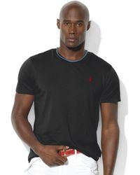 Polo Ralph Lauren Big and Tall Classic Fit Vneck Short Sleeve Cotton Jersey Tshirt - Lyst