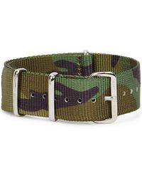 Smart Turnout - 20mm Camouflage Grosgrain Watch Strap - Lyst