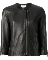 Helmut Lang Cropped Jacket - Lyst