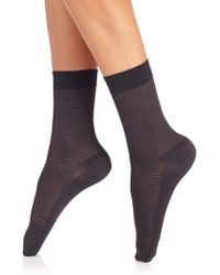 Wolford | Striped Socks | Lyst