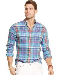 Polo Ralph Lauren Linen Estate Shirt - Lyst