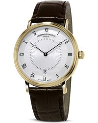 Frederique Constant - Slimline Classics Automatic Yellow Gold Watch, 39mm - Lyst
