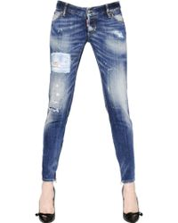 DSquared² Skinny Stretch Denim Jeans - Lyst