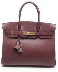 Hermes Preowned Epsom Birkin 30 Bag - Lyst