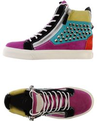 Giuseppe Zanotti High-Tops & Trainers - Lyst