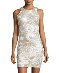 Alexia Admor Sequined Sleeevless Sheath Dress - Lyst