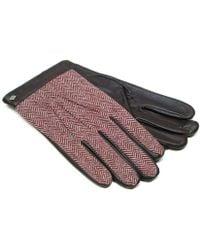 Joseph Abboud | Joesph Abboud Tweed Leather Gloves | Lyst