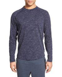 Bench - 'coup' Long Sleeve Crewneck T-shirt - Lyst