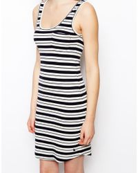 Jack Wills - Striped Tank Dress - Lyst