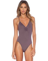 L*space Wild Side One Piece Swimsuit - Lyst