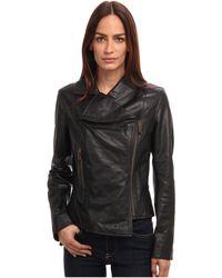 Vivienne Westwood Red Label Black Leather Jacket - Lyst