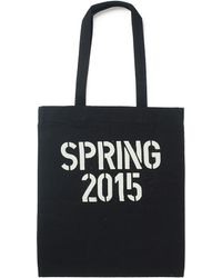 Cheap Monday - Tote Bag With Stencil Print - Black - Lyst