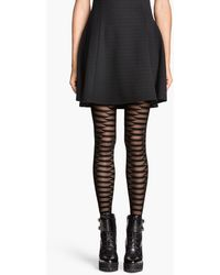 H&M Patterned Tights - Lyst