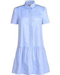 Vanessa Bruno Athé Short Dress - Lyst