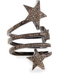 Siena Jewelry - Triple Star Diamond Ring - Lyst