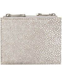 Pied A Terre Double Zip Purse - Lyst