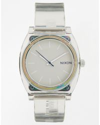 Nixon Time Teller Translucent Watch - Lyst