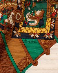 Hermès HermãˆS Brown Astres Et Soleils Scarf brown - Lyst