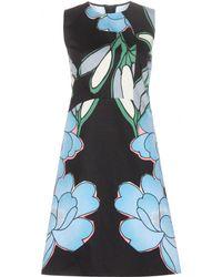 Marni Floral-Printed Cotton-Blend Dress - Lyst