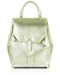 Topshop Clean Smart Backpack - Lyst