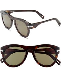 G-Star RAW Men'S 'Gs603Sm' 51Mm Sunglasses - Havana - Lyst