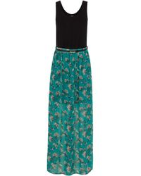 Oasis Tropical Bird 2 in 1 Maxi Dress - Lyst