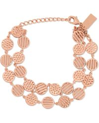 Arme De L'Amour - Rose Gold-plated Bracelet - Lyst