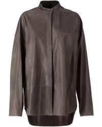 Haider Ackermann Oversized Panelled Jacket - Lyst