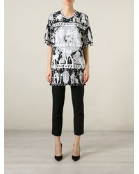 KTZ Black Oversized T-Shirt - Lyst