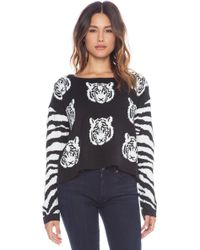 Mink Pink Tiger Time Knit Jumper - Lyst