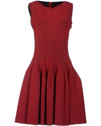 Alaïa Short Dress - Lyst