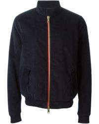 Band Of Outsiders Classic Bomber Jacket - Lyst