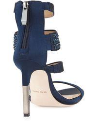 BCBGMAXAZRIA Jinny Strappy Embellished Sandals - Lyst