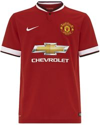 Nike Manchester United Home Stadium Jersey - Lyst