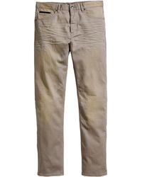 H&M Twill Trousers - Lyst
