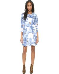 Paul & Joe Sister Chassacour Long Sleeve Dress  Blue 31 - Lyst