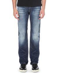Diesel Safado Regular-fit Straight Jeans Blue - Lyst