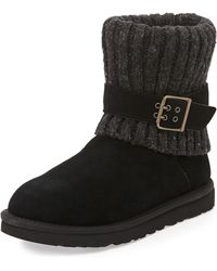 Ugg Cambridge Knitcuff Convertible Boot - Lyst