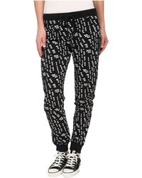 Converse Printed Knit Pant - Lyst