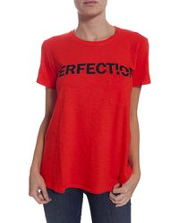 Textile Elizabeth And James Perfection Tee - Lyst