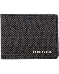 Diesel Danddy Denim Neela Xs Wallet - Lyst