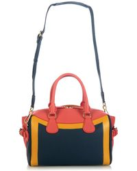 Burberry Prorsum Bee Hand-Painted Leather Tote blue - Lyst