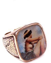 Lulu Frost G. Frost Usn Sweetheart Ring blue - Lyst