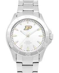 Jack Mason Brand - 'purdue Boilermakers' Bracelet Watch - Lyst
