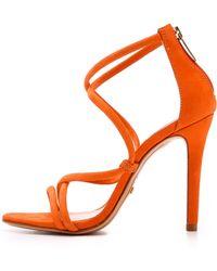 Schutz Brazilian Sandals - Orange - Lyst