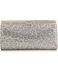 Jimmy Choo 'Nina' Clutch gold - Lyst