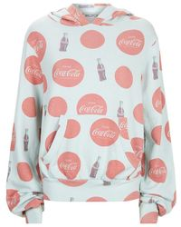 Wildfox | Malibu Coca Cola Print Hoodie | Lyst