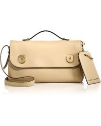 Marc Jacobs Topstitched Top-Handle Satchel - Lyst